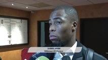 Réaction sidibé défenseur de AS MONACO: Les erreurs d'un match l'on paye cash