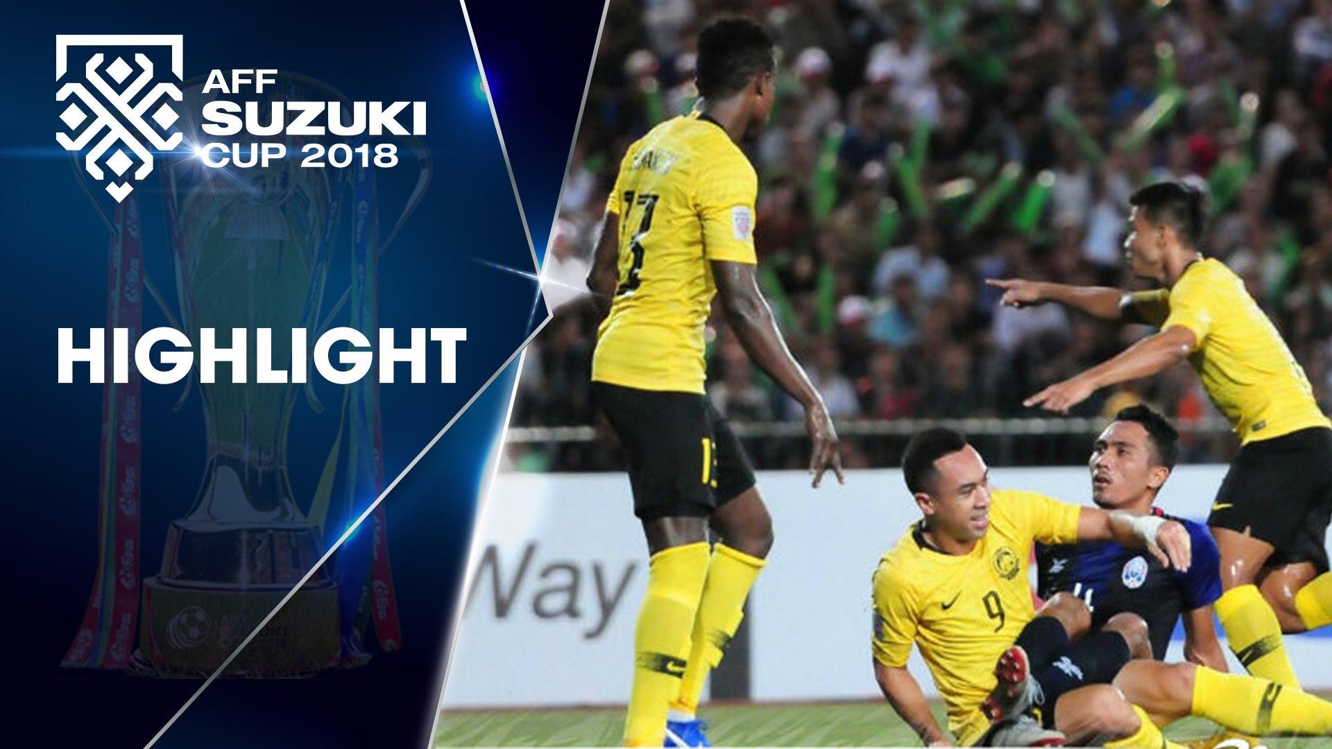 AFF CUP 2018| ĐT Malaysia giành chiến thắng tối thiểu ngày ra quân | VFF Channel