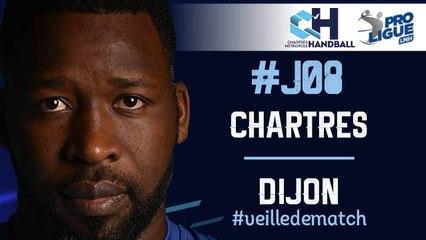 #J08 :  CHARTRES - DIJON #veilledematch