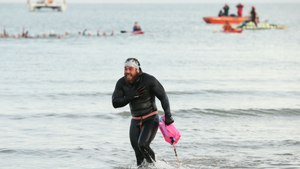 Man Swims For 157 Days