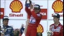 Domingo, no EE: Galvão relembra momentos marcantes da carreira de Ayrton Senna