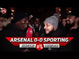 Arsenal 0-0 Sporting Lisbon   Jenkinson Was A Hell Of A Lot Better Today! (Troopz)