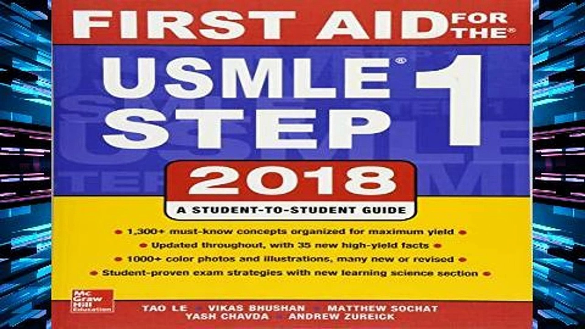F R E E [D O W N L O A D] First Aid for the USMLE Step 1 2018, 28th Edition  [P D F]