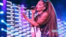 Ariana Grande Vying for First No. 1 on Next Week's Billboard Hot 100   Billboard News