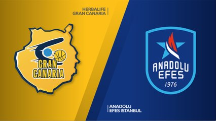 EuroLeague 2018-19 Highlights Regular Season Round 6 video: Gran Canaria 90-94 Efes
