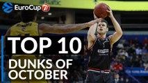 7DAYS EuroCup, Top 10 Dunks of October!