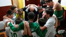 U13 - Cri de victoire après la victoire en Coupe Pitch contre Haudivillier  et PTT de Beauvais - Victoire au pénalty 1 à 0 le 3 novembre 2018