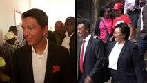 Présidentielle malgache: Rajoelina et Ravalomanana en tête