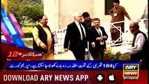 Headlines ARYNews 1200 9th November 2018