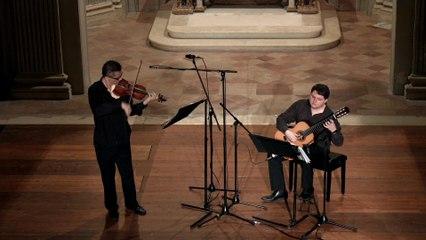 Eugenio Della Chiara - Paganini: Grande Sonata in A Major, MS 3: 3. Andantino Variato. Scherzando