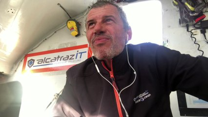 Route du Rhum / Alcatraz IT faceOcean  / Ça envoie du sirop à 35 noeuds !