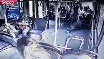 Otobüs şoförü tekrar sahnede, yine hayat kurtardı