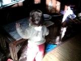 Vale y Leo bailando Xuxa,29-12-07