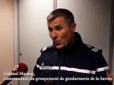 Colonel Machac, commandant le groupement de gendarmerie de la Savoie