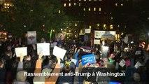 Des manifestants accusent Trump d'outrepasser ses pouvoirs