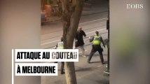 Australie : un mort dans une attaque au couteau à Melbourne