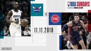 #NBASundays : Hornet@Pistons