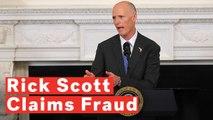 Rick Scott Claims 'Rampant Fraud' In Florida Senate Race As His Lead Shrinks