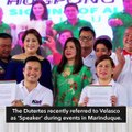 Velasco as 'next Speaker'? Sara Duterte says she'll back dad's choice