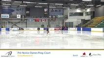 Championnats A de la section Québec - Patinage Canada 2019 Eve. 1 Pré-Novice Dames échauffements 1-13