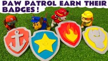 Paw Patrol Earn Their Play Doh Badges with Thomas and Friends - A Fun Toy Story for Kids