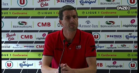 POINT PRESSE (EAG) : AVANT GUINGAMP - LYON