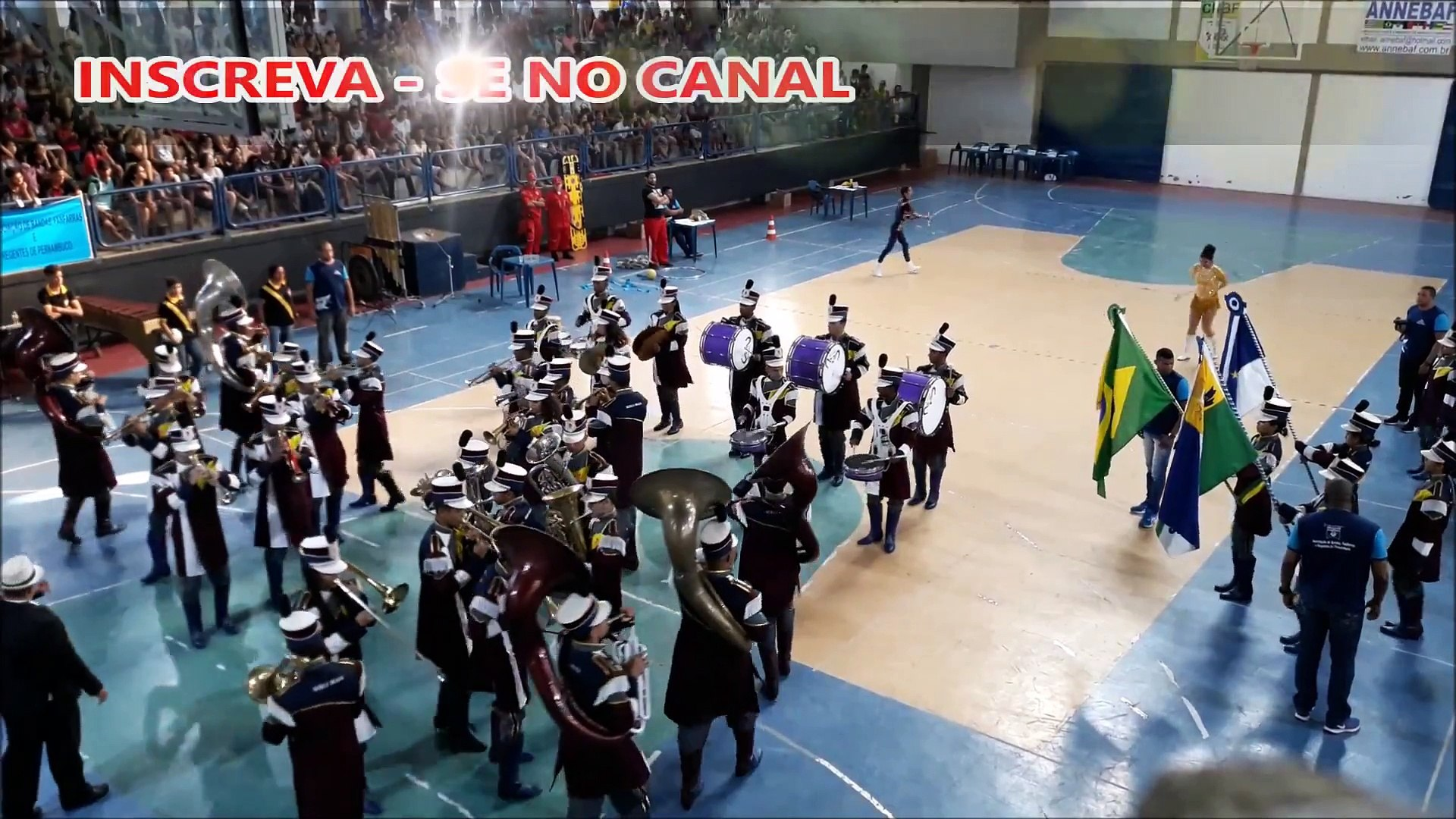 BANDA MARCIAL MURILO BRAGA 2018 | ETAPA FINAL | X COPA PERNAMBUCANA DE BANDAS E FANFARRAS | ABANFARE
