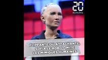 Flippante ou attachante, Sofia le robot imite les mimiques humaines