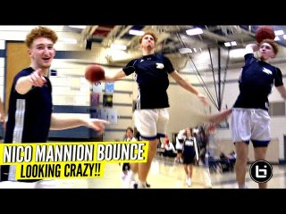 Nico Mannion's Bounce Is Looking CRAZY & Explosive!! Shows OUT in Scrimmage!