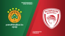 Panathinaikos OPAP Athens - Olympiacos Piraeus Highlights | Turkish Airlines EuroLeague RS Round 6