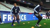 Equipe de France Féminine : Vivacité et réactivité avant France-Brésil I FFF 2018