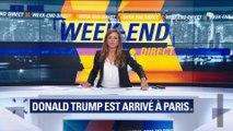Commémoration du 11 novembre : Donald Trump arrive à Paris (3/3)