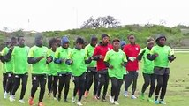 ZAMBIA WOMEN NATIONAL TEAM GEAR UP FOR CAMEROON CLASHThe Zambia Women National Team had its final training session before Thursday's crunch semifinal clash ag
