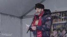 """Nick Offerman Speaks at Respect Rally: """"We Are Learning So Much About Our Ignorance"""" 
