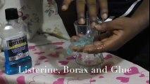 Diy Listerine slime with borax!! How To Make Listerine Slime with borax | Cool Minty slime with Glue