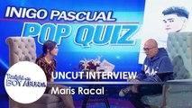 TWBA: Maris Racal aces the Pop Quiz about Iñigo Pascual