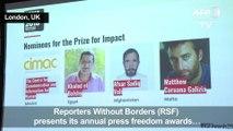 Press freedom award winners denounce Trump CNN move
