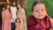 Shahid Kapoor's wife Mira Rajput shares first picture of son Zain Kapoor; Check Out | FilmiBeat
