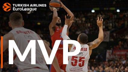 Round 6 MVP: Cory Higgins, CSKA Moscow