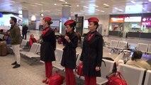 İstanbul Atatürk Havalimanında 09.05