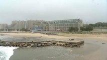 L'érosion grignote les côtes du Portugal