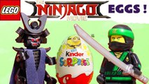 Lego Ninjago Kinder Surprise Chocolate Eggs with DC Superheroes and Masha and the Bear - A fun toy story for kids