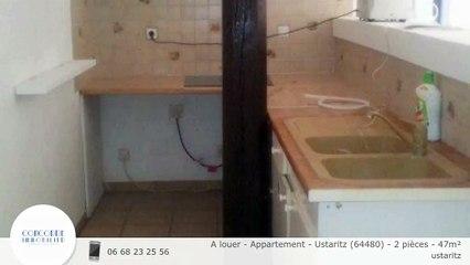 A louer - Appartement - Ustaritz (64480) - 2 pièces - 47m²