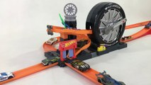 Hot Wheels City Super Spin Tire Shop Playset    Keith's Toy Box