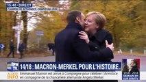 Angela Merkel, première chancelière à venir à Compiègne, 100 ans après l'Armistice