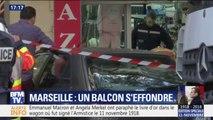 Marseille : un balcon s'effondre lors de la marche blanche faisant trois blessés légers