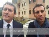 Vincenzo Nibali et son avocat