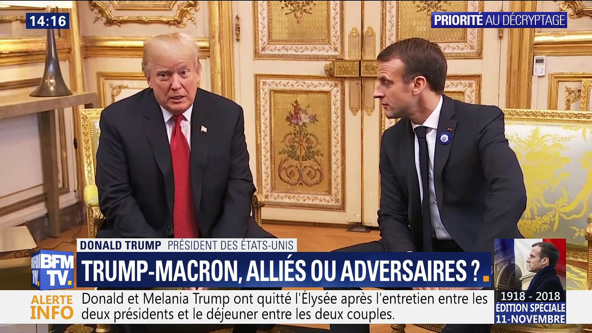 Trump-Macron: Alliés ou adversaires ?