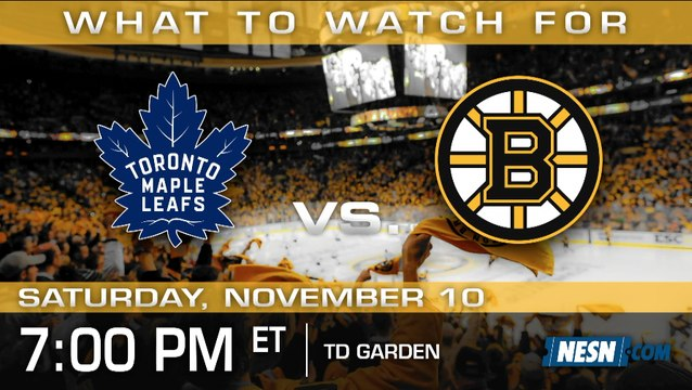 Bruins vs. Maple Leafs Preview: Halak In Net With Rask On Leave