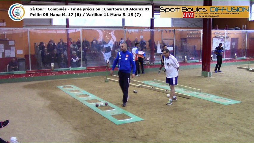 Second tour, second tir de précision, France Club Elite 1, J4, Tarare contre CRO Lyon,  saison 2018/2019